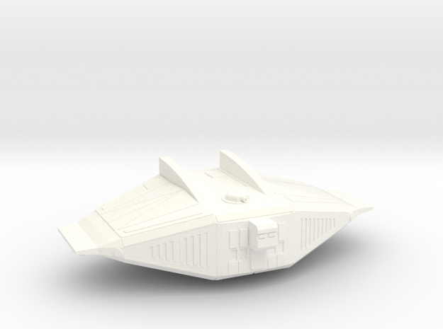 Warbot Transport in White Processed Versatile Plastic