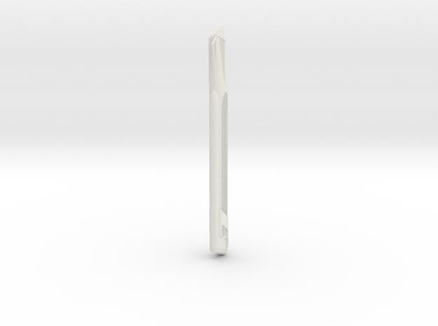 Star Trek 1400 scale Refit Nacelle Center  in White Natural Versatile Plastic