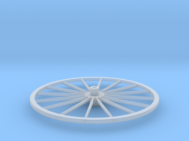 Gig wheel 64th in Smoothest Fine Detail Plastic