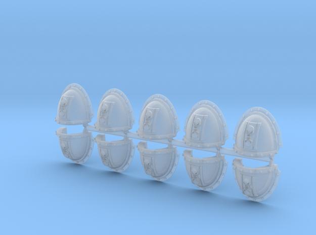 Skull Hourglass Mk3.5 Shoulder Pads