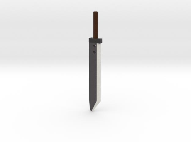 Cloud - Sword only - 90mm in Full Color Sandstone