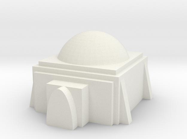 Mos Espa Hut 1  in White Natural Versatile Plastic