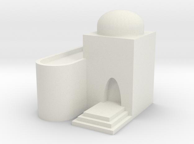 Mos Espa Hut 3 in White Natural Versatile Plastic