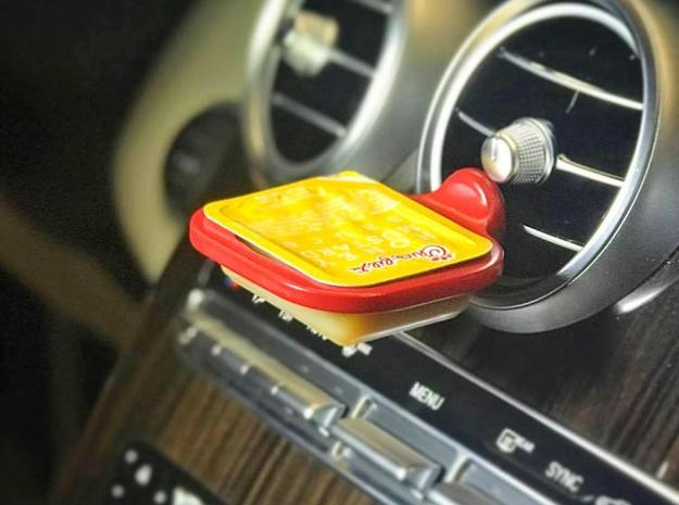 The Dipping Sauce Holder | Car Vent Sauce Dipper | in Red Processed Versatile Plastic