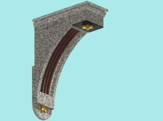 Balcombe Viaduct Corbels  3d printed Description
