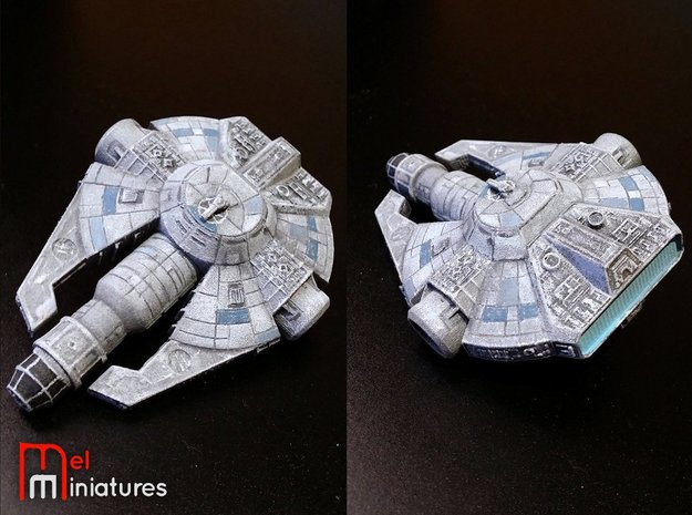 YT-2000 Otana (Jan's version) 1/270  in White Natural Versatile Plastic