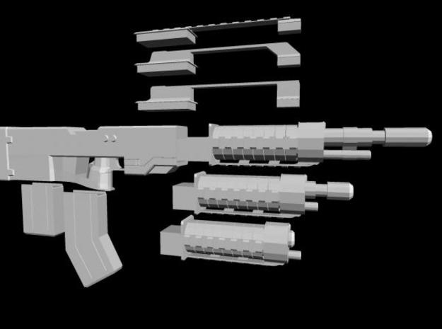 Archangel Tactical Combat Rifle 3d printed Description
