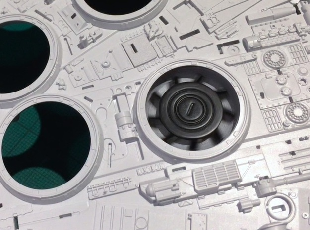 Perfect Grade Falcon, 1:72, motorizable fans FXD in Smoothest Fine Detail Plastic