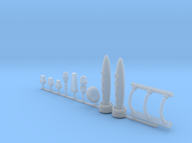 Docking Bay Random Stuff, 1:72 in Smooth Fine Detail Plastic