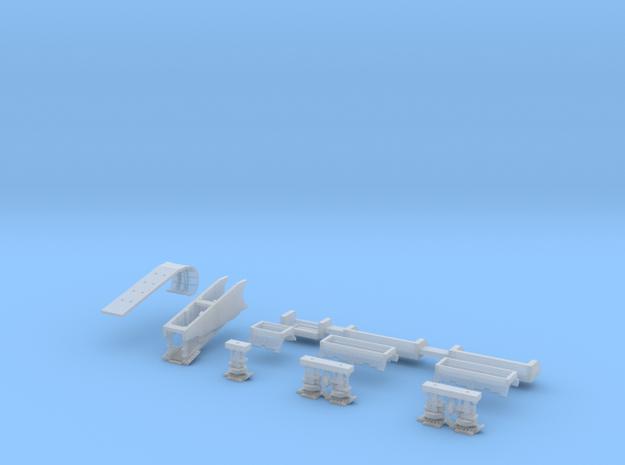Falcon Ramp and Landing Gear, 1:350