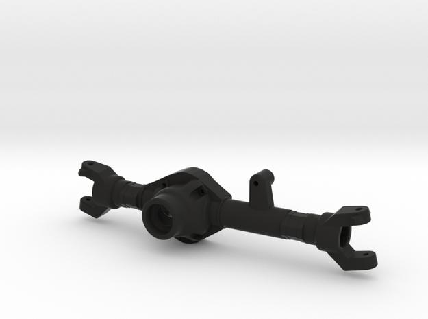 TMX Vaterra Bronco Front Axle in Black Natural Versatile Plastic