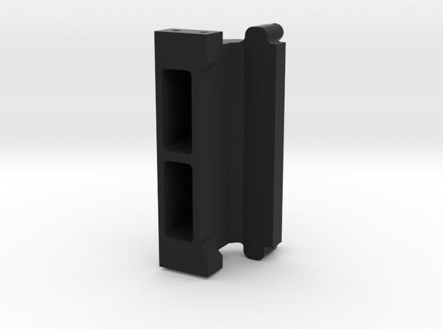 CMAX Hilux 2dr - Bed Mount in Black Natural Versatile Plastic