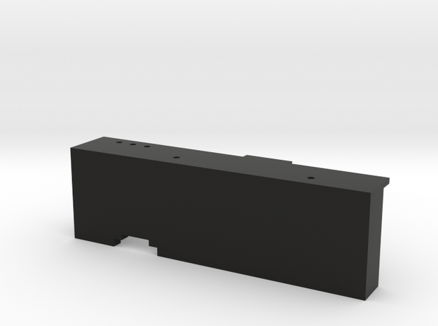 CMAX Hilux 2dr - Left Footwell in Black Natural Versatile Plastic