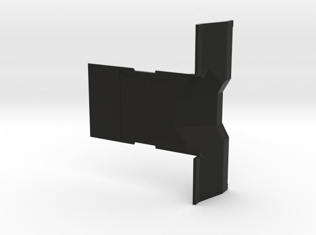 CMAX Hilux 2dr - Firewall Console in Black Natural Versatile Plastic