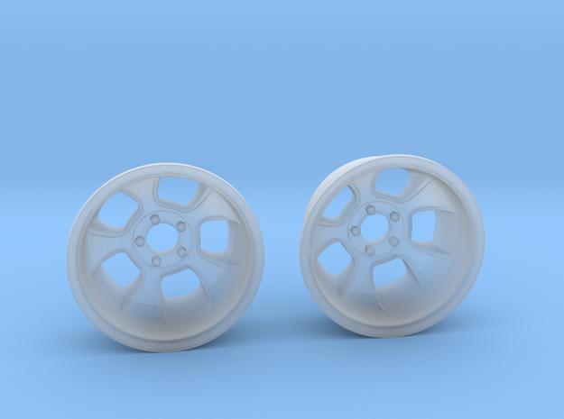 "1:25 Halibrand style ""Sprint"" wheels"