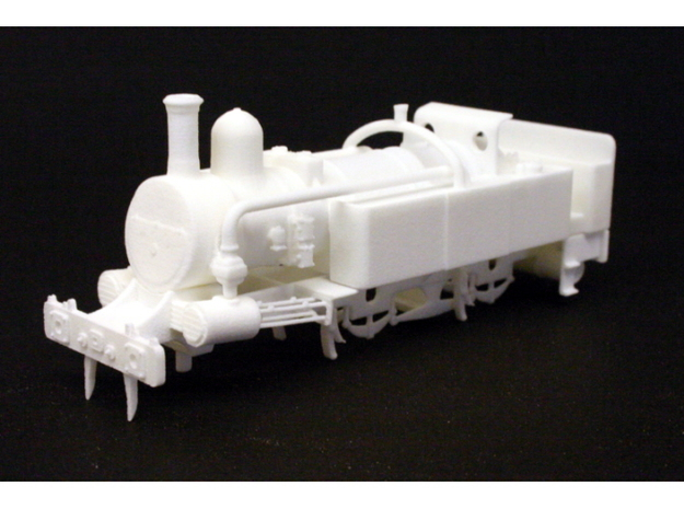 District Railway A Class in White Natural Versatile Plastic