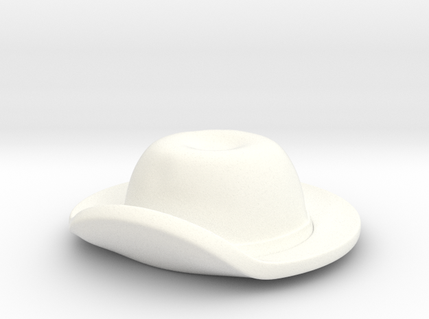 American Civil War T2 in White Processed Versatile Plastic