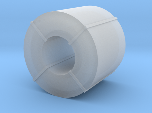 Coil Stahlblech - 1:120 TT in Smooth Fine Detail Plastic