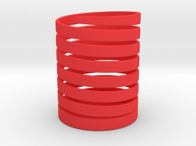 106102330丁韋中-螺旋筆筒 in Red Processed Versatile Plastic