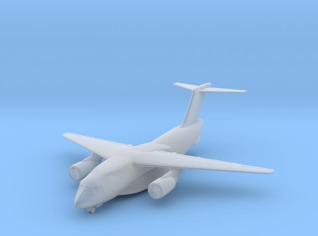 Kawasaki C-2 w/Gear (FUD) in Smooth Fine Detail Plastic: 1:600