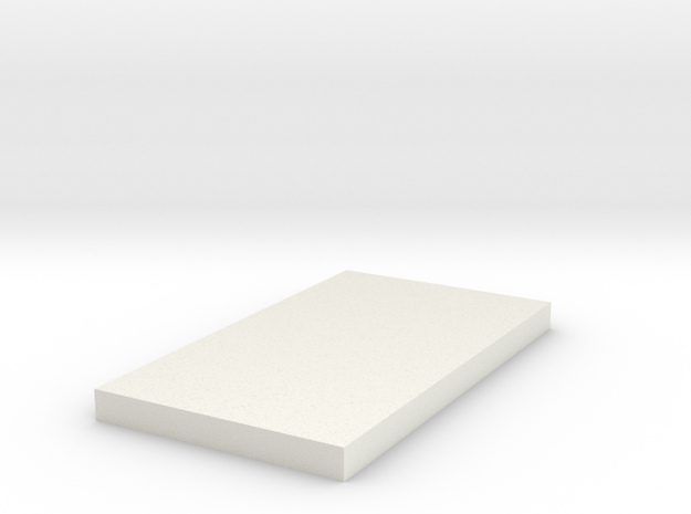 Magnet cover in White Natural Versatile Plastic