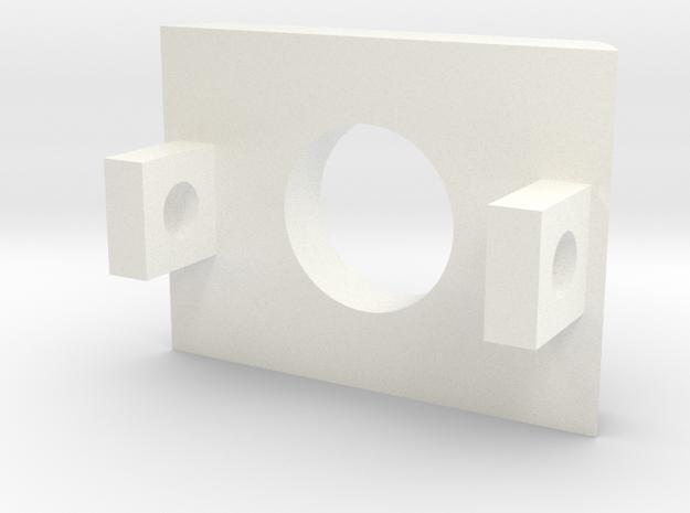 OWK Part 4/5 - PortHolder in White Processed Versatile Plastic