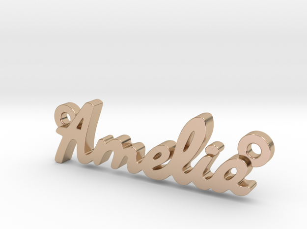 Amelia-sm in 14k Rose Gold