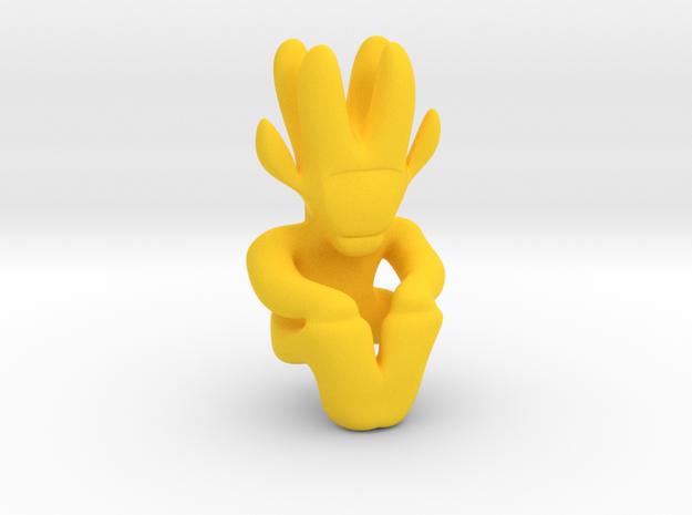 Artifact 7 in Yellow Processed Versatile Plastic
