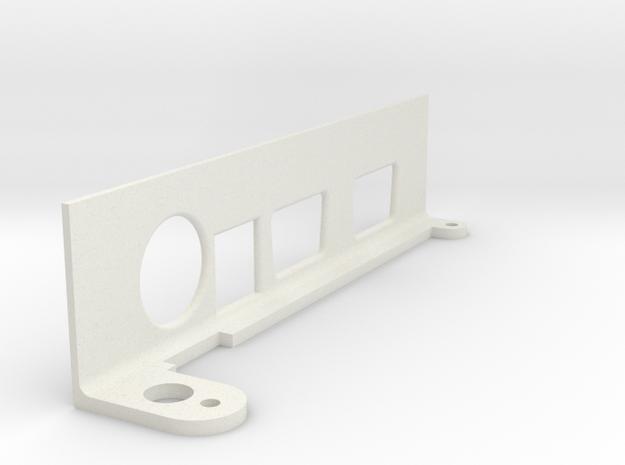Commodore 64 Breadbin Replacement Port Cover in White Natural Versatile Plastic