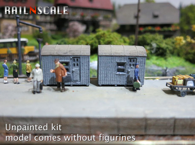 SET 2x Einheitskaue DRG (N 1:160) in Frosted Ultra Detail