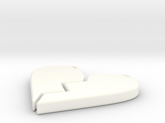 pendant4 in White Processed Versatile Plastic: Small