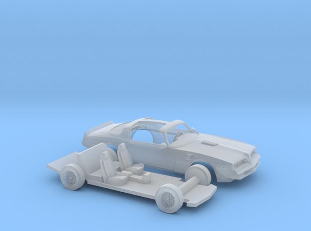 1/160 1977 Pontiac Firebird Trans Am T-Top Kit