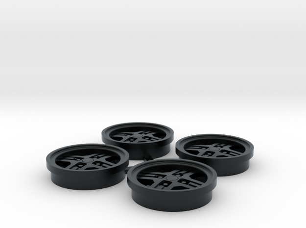 RX7 Cross rims Fits Revell 85-4429