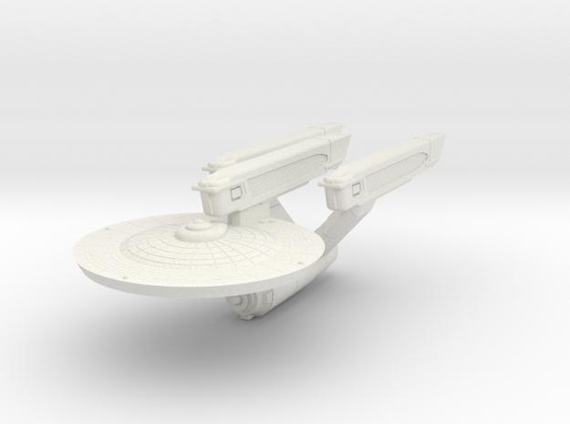 Battle Cruiser in White Natural Versatile Plastic