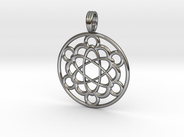 METAFLOW in Fine Detail Polished Silver