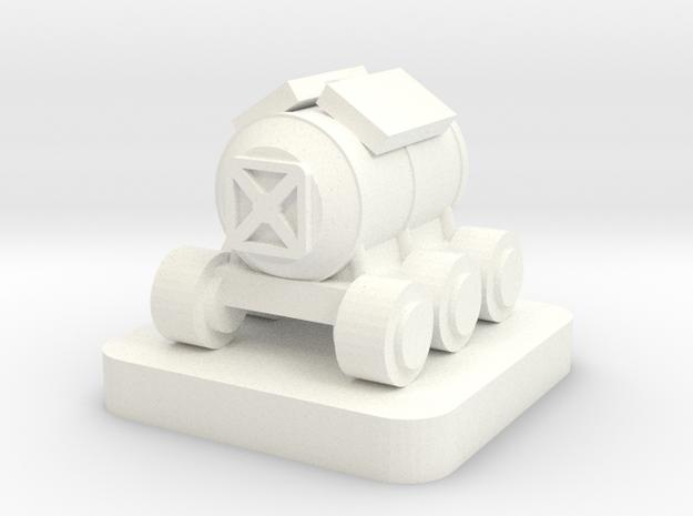 Mini Space Program, Habitat Rover in White Processed Versatile Plastic