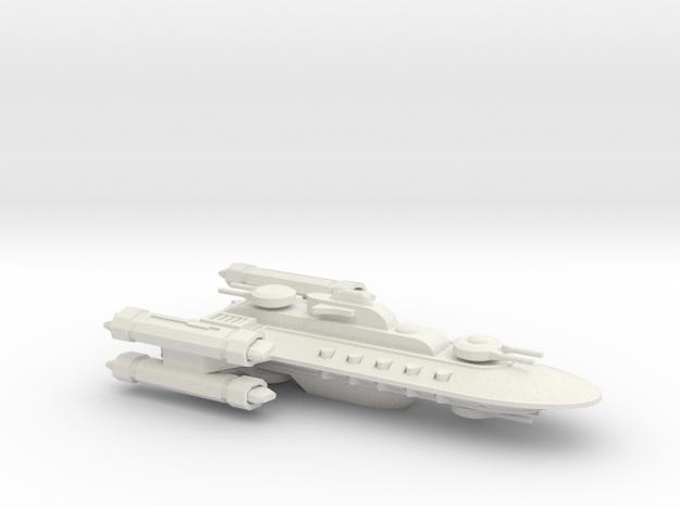 Hyborean Caledonia Cruiser in White Natural Versatile Plastic