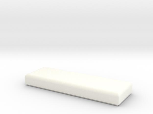 Parts box cover in White Processed Versatile Plastic