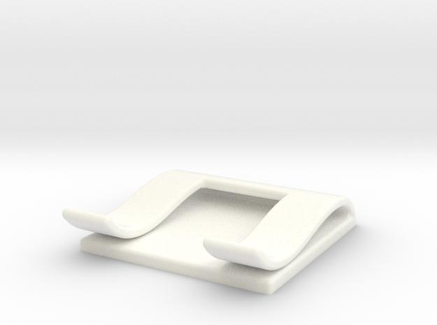 Knife single clip in White Processed Versatile Plastic
