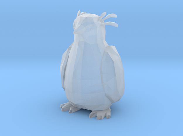 Penguin in Smooth Fine Detail Plastic