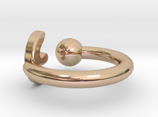 Fork bracelet in 14k Rose Gold