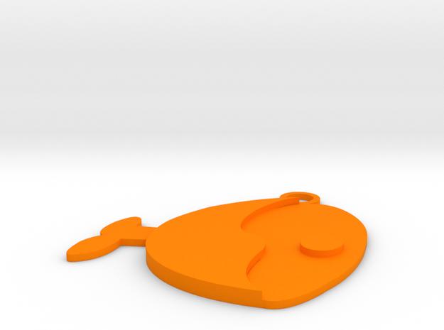 Meat chunk in Orange Processed Versatile Plastic