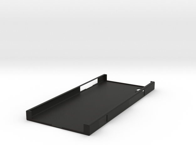 Sony Xperia XA1 SmartPhone Case in Black Natural Versatile Plastic