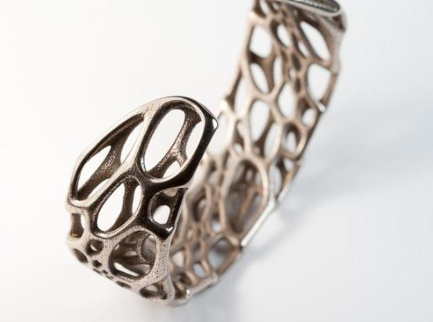 Bone Cuff sz S/M 3d printed back of cuff