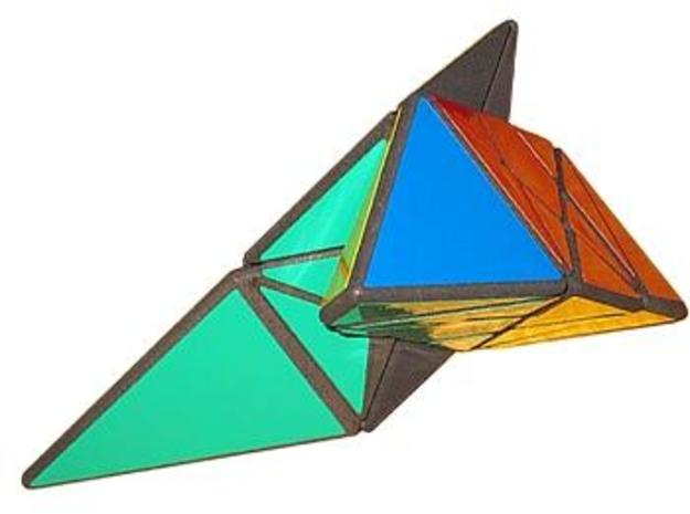 Krystian's Pyramid 3d printed More turning