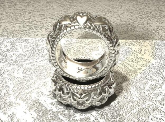 T's Ring V2 3d printed 3D render in maya