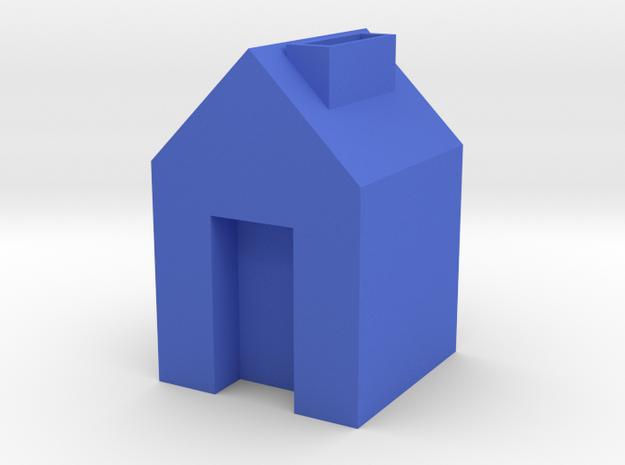 housing model in Blue Processed Versatile Plastic