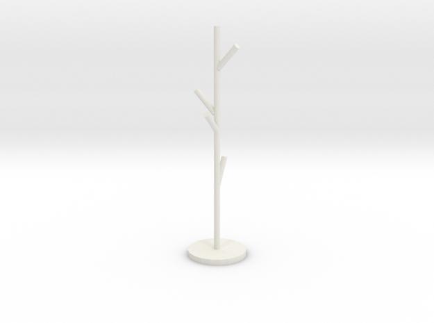 衣架 in White Strong & Flexible: Small