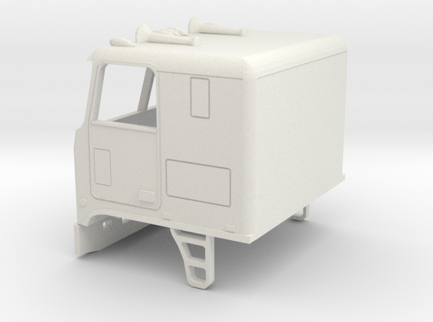 1/32 1968-80 GMC Astro-Chevrolet Titan Cab in White Natural Versatile Plastic
