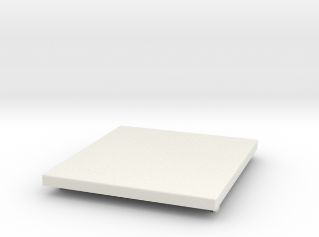 VW Pick-up Deck Cover in White Natural Versatile Plastic